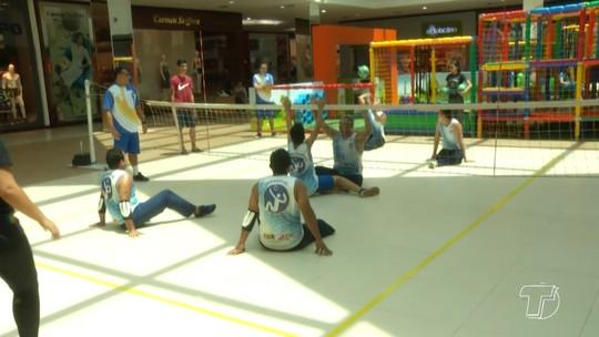 Torneio paralímpico marca Dia D do deficiente em Santarém