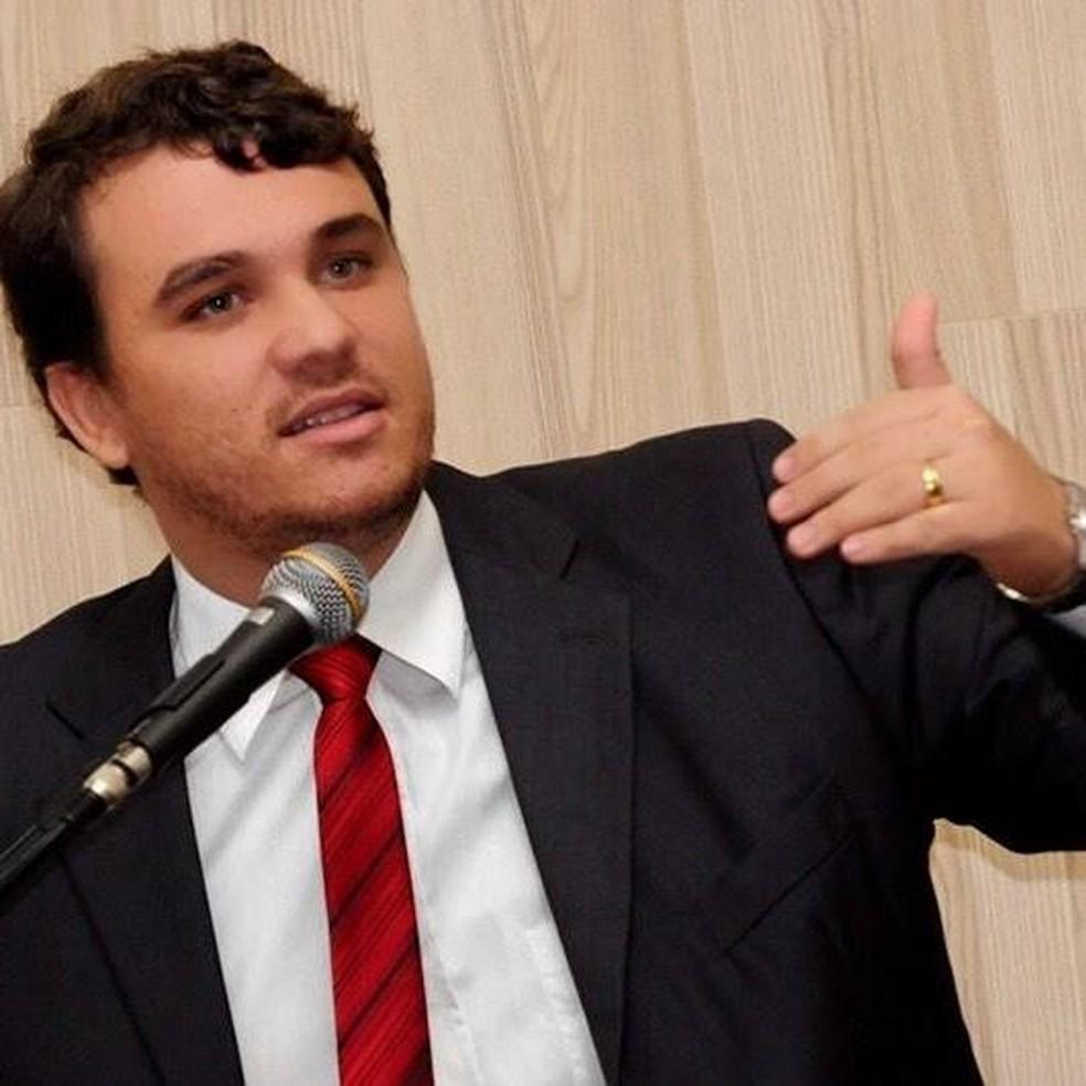 Vereador Thiago Ferrugem (Foto: Reprodução/Facebook)