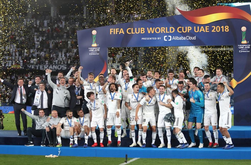 Real Madrid é o atual campeão do Mundial de Clubes — Foto: REUTERS/Suhaib Salem
