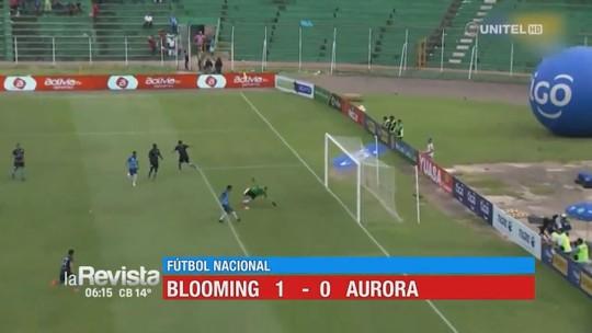 Rafael Barros volta de lesão e marca gol da vitória do Blooming no Campeonato Boliviano