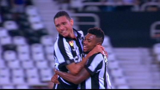 Treinos de finalizações e drible na timidez: Luiz Fernando começa a engrenar no Bota