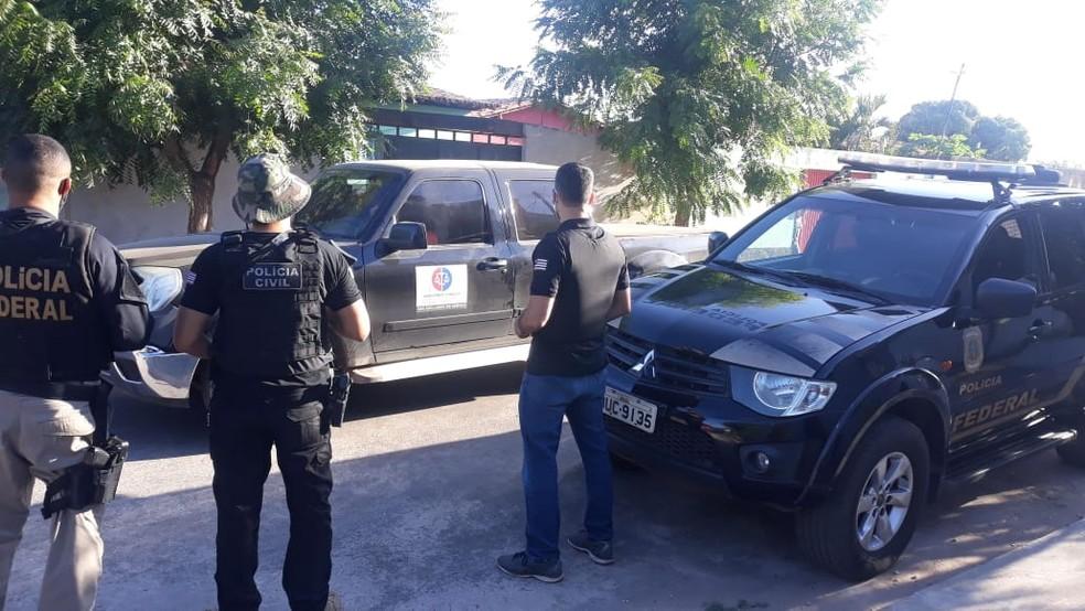 PF investiga aquisição de arma de fogo, em Teresina, por condenado por tráfico de drogas no MA — Foto: Divulgação/PF