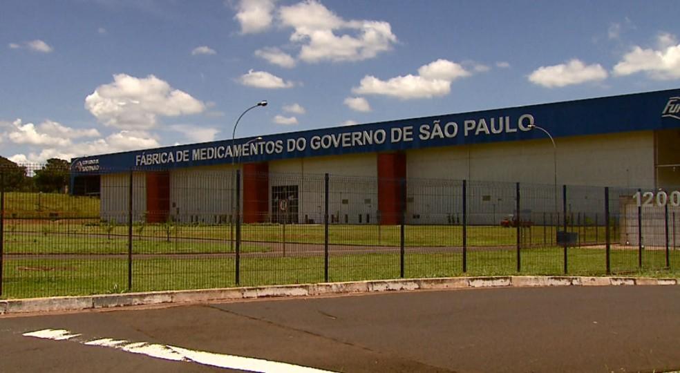 Unidade da Furp em Américo Brasiliense  — Foto: Ely Venâncio/EPTV