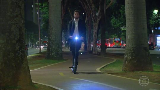 Prefeitura de São Paulo determina regras para quem usa patinetes elétricos