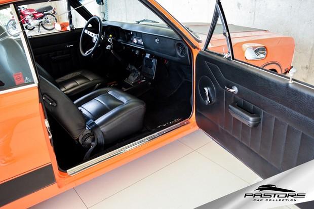 Chevrolet Opala V8 Interior (Foto: Divulgação)