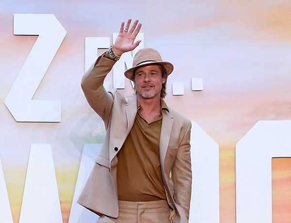 Brad Pitt na premiére de 'Era Uma Vez em Hollywood' no México (Foto: Getty Images)