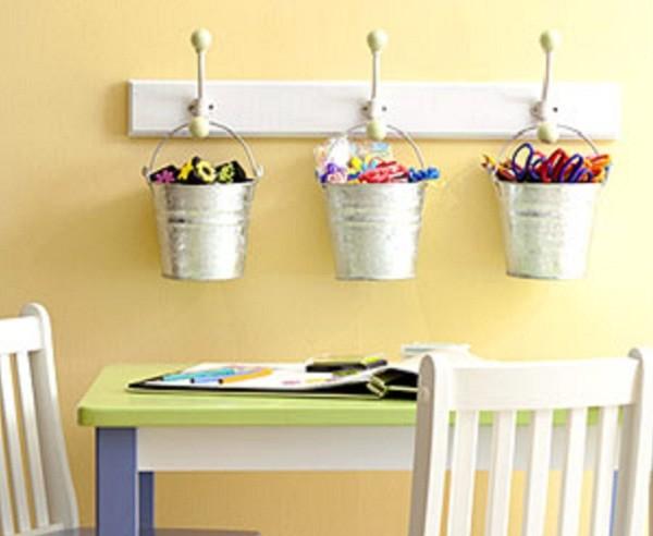 Organizadores baldinho (Foto: Pinterest)
