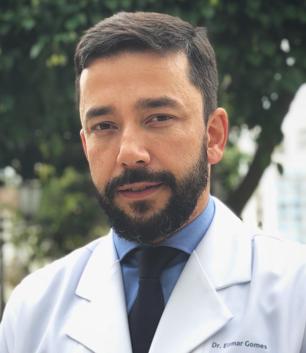 Dr. Elimar Gomes (CRM 103972/SP) — Foto: Divulgação