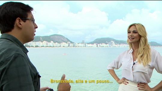 Embaixadora da Copa promete muita festa para o Brasil no jogo de estreia