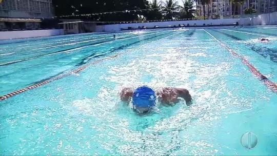 Experiente, nadador potiguar sonha em disputar as Paralimpíadas de Tóquio
