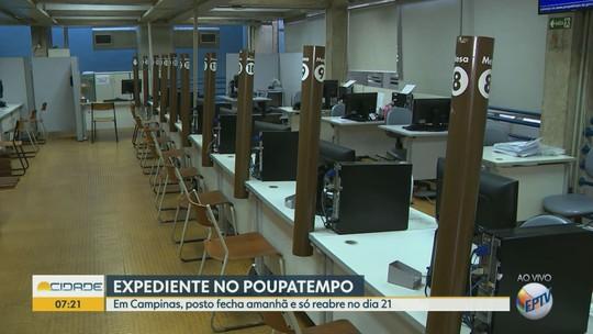 Poupatempo de Campinas emenda feriados de 15 e 20 de novembro; veja alternativa para acessar serviços