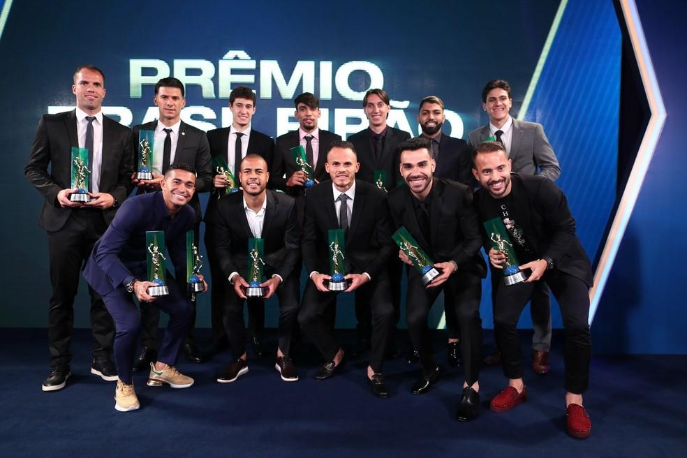Seleção do Campeonato Brasileiro 2018 — Foto: Divulgação / CBF