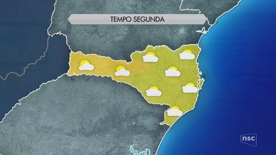 Segunda-feira começa com frio; Serra de SC registra mínima de -3°C