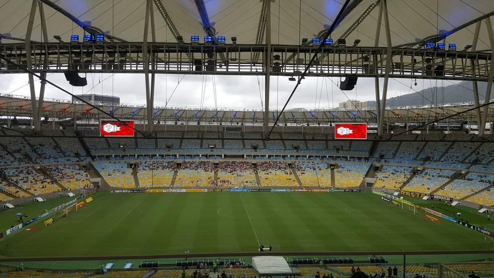 Flamengo x Vasco pelo Brasileirão será no Maracanã (Foto: Felipe Schmidt/GloboEsporte.com)