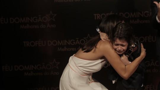 'Troféu Domingão': saiba tudo o que rolou nos bastidores da premiação