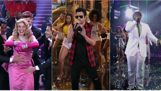 'Show dos Famosos': Silvero Pereira impressiona como Freddie Mercury no palco do 'Domingão'