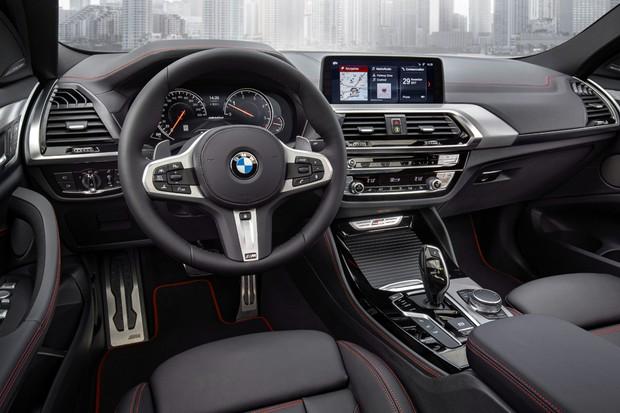 The new BMW X4 xDrive M40d (Foto: Divulgação)