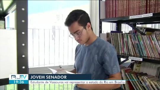 Estudante de Vassouras vence concurso nacional de redação e vai representar o RJ em Brasília