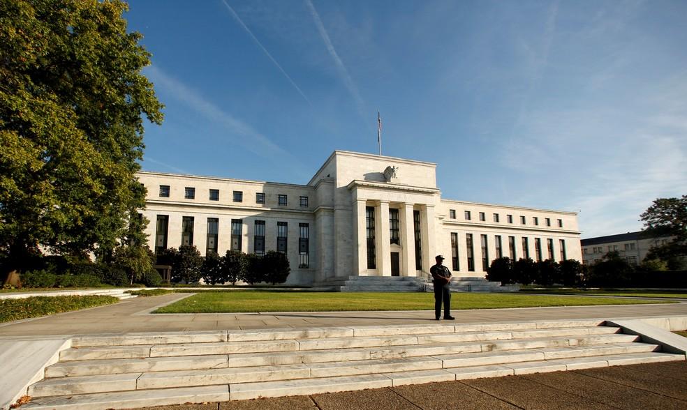 REUTERS/Kevin Lamarque/ — Foto: Sede do Federal Reserve em Washington, D.C, em imagem de arquivo