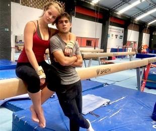 Valentina Bulc e Daniel Rangel   Acervo pessoal