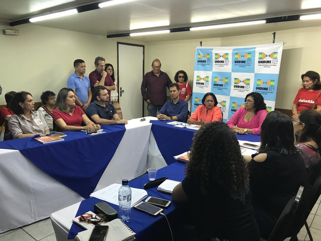 Fátima Bezerra (PT) promete ampliação de escolas em tempo integral