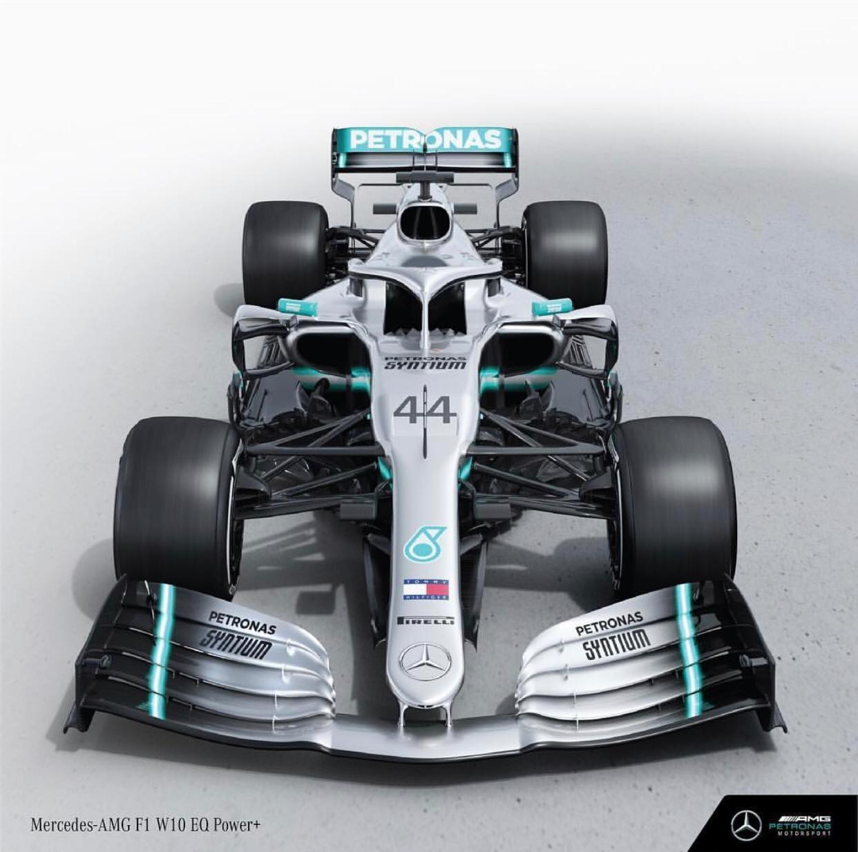 Mercedes W10 (Foto: Reprodução: Instagram)