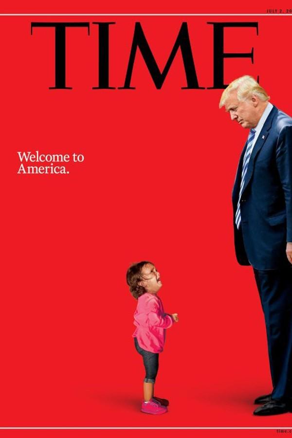 Capa da revista Time de julho de 2018  (Foto: Reprodução)
