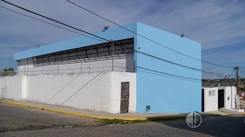CDP de Macaíba, na Grande Natal (Foto: Reprodução/Inter TV Cabugi)