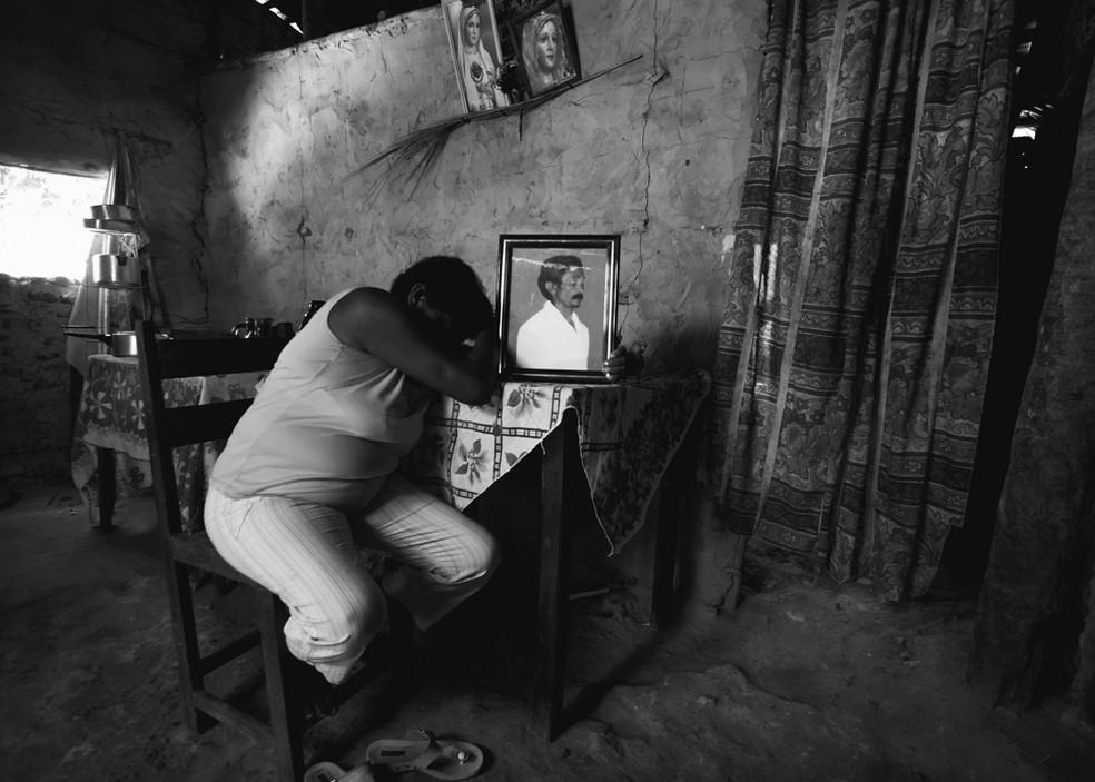 Trabalho escravo — Foto: Foto: Sérgio Carvalho/ Arquivo pessoal