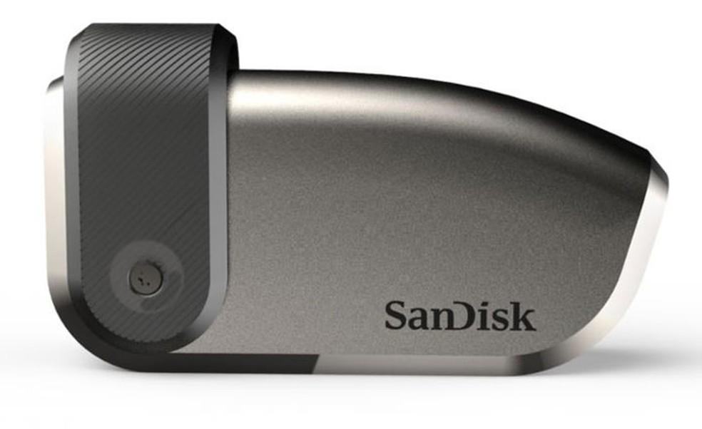 O pen drive de 4 TB ainda é um protótipo e não tem previsão de lançamento — Foto: Divulgação/WD