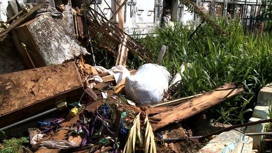 Abandono de cemitério preocupa moradores de Santana do Ipanema, AL