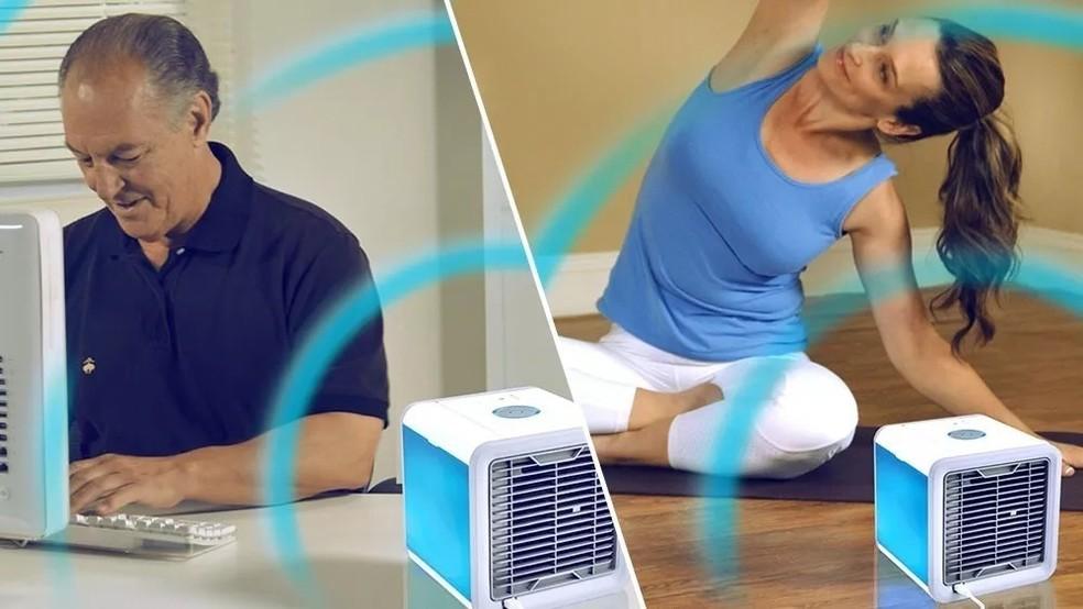 Climatizadores de ar podem aliviar o calor do ambiente — Foto: Divulgação/Elgin