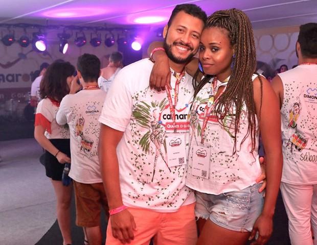 Guilherme Guimarães e Roberta Rodrigues (Foto: Daniel Janssens/ Ed.Globo)