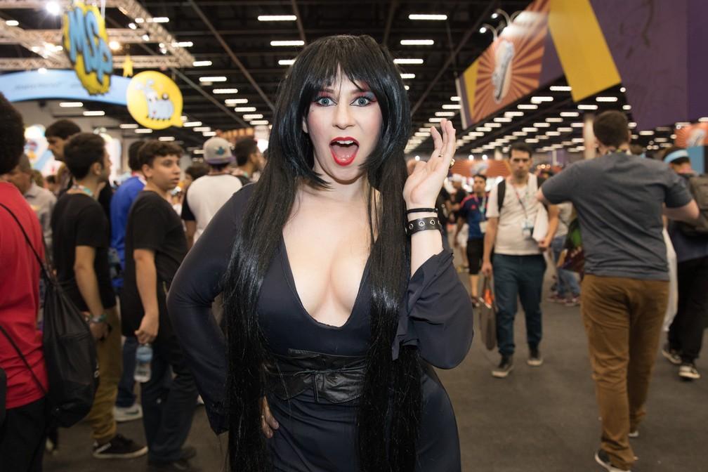 -  Elisa Oliveira, 30, cantora lírica, como Elvira  Foto: Celso Tavares/G1