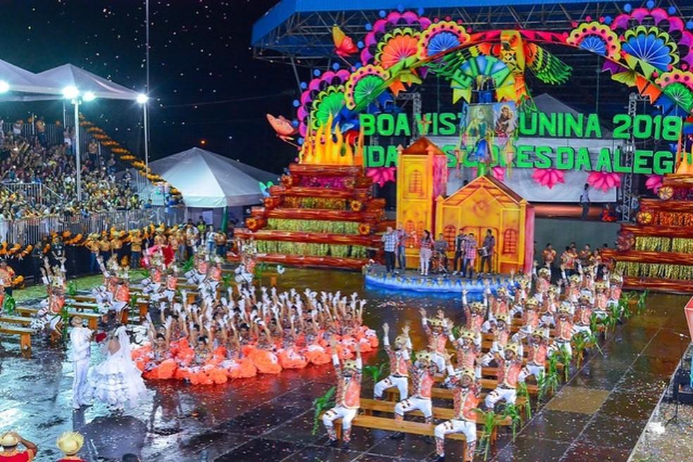 Arraial Boa Vista Junina 2019 será de 19 a 23 de junho — Foto: PMBV/Divulgação