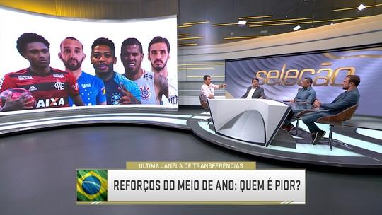 Seleção SporTV elege os melhores e piores reforços do período pós Copa