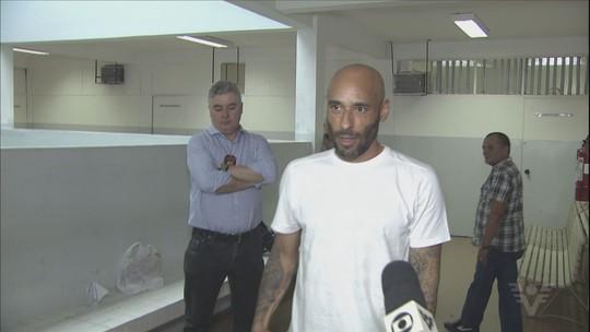 Ex-goleiro Edinho é libertado após seis dias na cadeia: 'Nada mais justo'