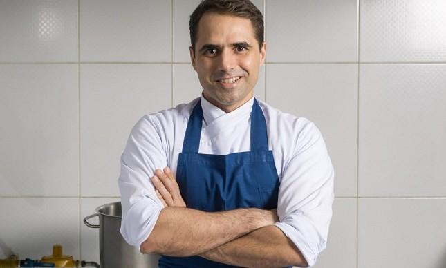 O chef  Rodrigo Guimarães