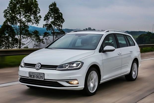 VW Golf Variant 2019 (Foto: Divulgação)