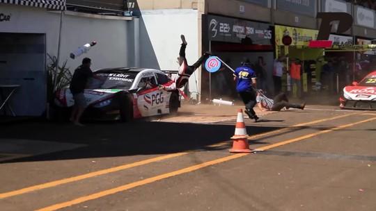 Duas das três vítimas do acidente na Stock Light têm alta em Campo Grande