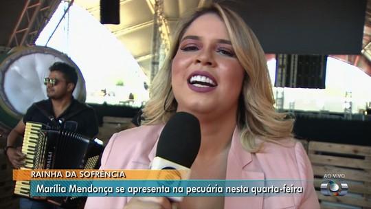 Marília Mendonça lembra de 'juntar moedinha' para ir à Pecuária de Goiânia e esperar ônibus para voltar para casa