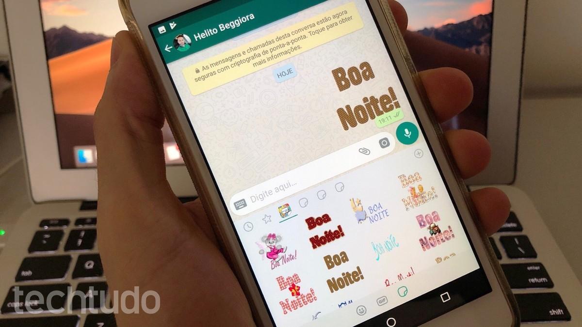 Figurinhas De Boa Noite Para Whatsapp Saiba Como Usar No