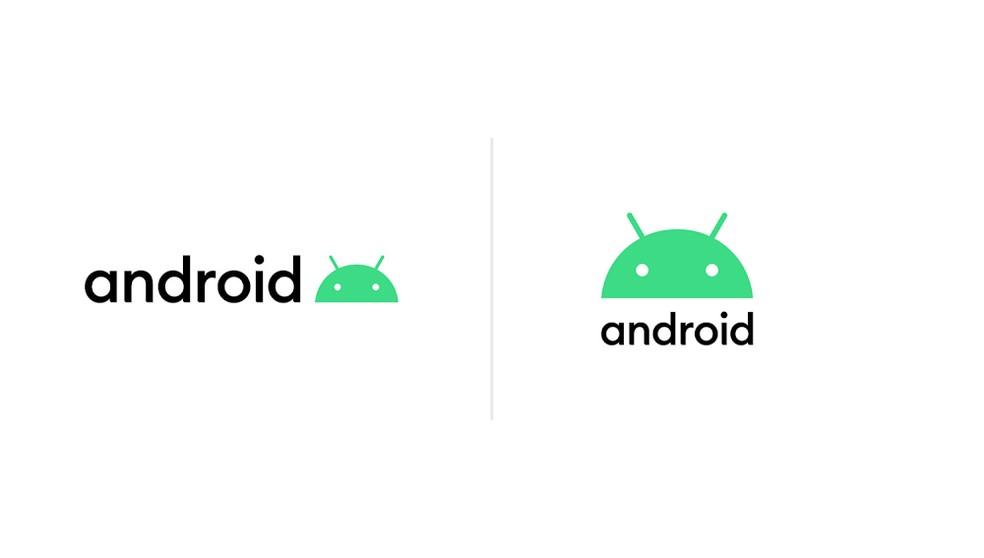 Android 10 traz um novo visual à logomarca do sistema — Foto: Divulgação/Google
