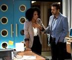 'A dona do pedaço': Gilda (Heloísa Jorge) e Amadeu (Marcos Palmeira) | TV Globo