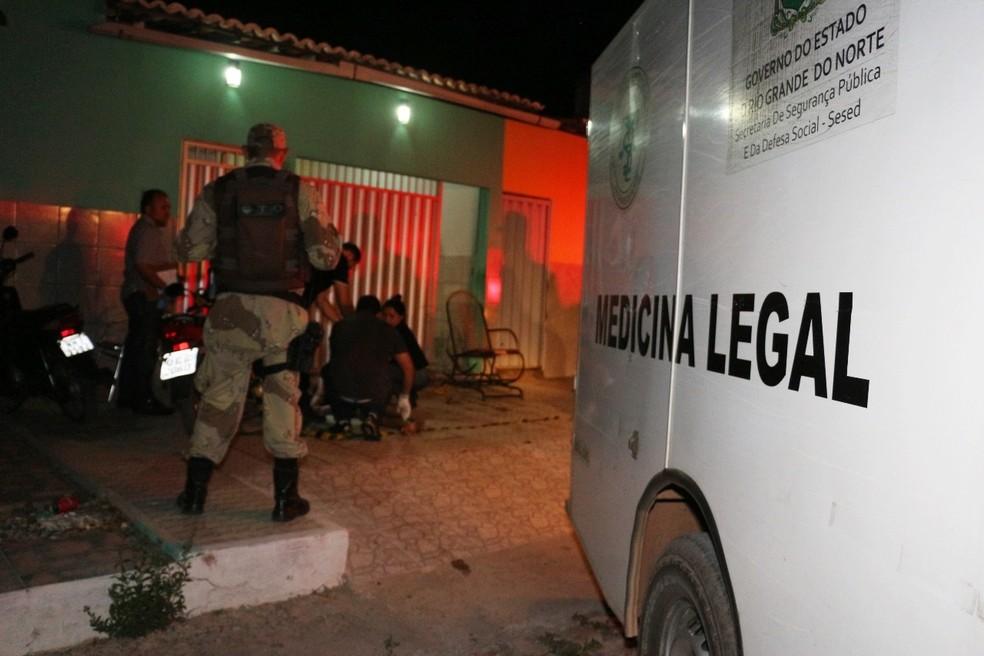 Rio Grande do Norte teve maior crescimento de taxa de homicídios no país (Arquivo) (Foto: Marcelino Neto/O Câmera)