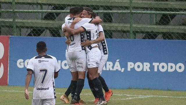 Gedoz marcou o segundo gol do Remo no jogo