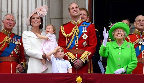 Família real britânica (Foto: Getty Images)