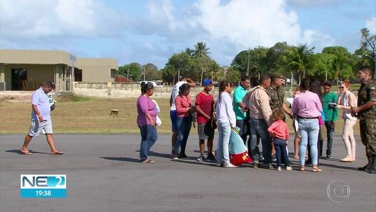 Refugiados venezuelanos chegam a Pernambuco para morar no Grande Recife