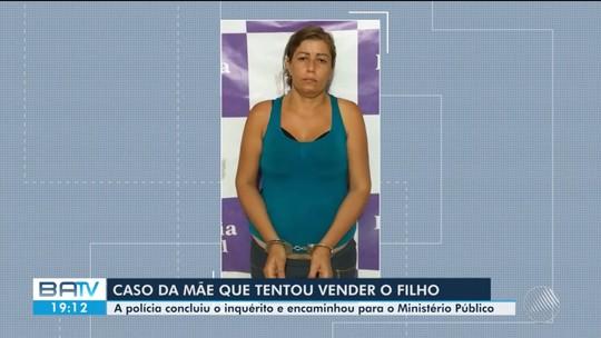Polícia conclui inquérito e indicia mãe que venderia o filho por R$ 70 mil na Bahia por tráfico de pessoas