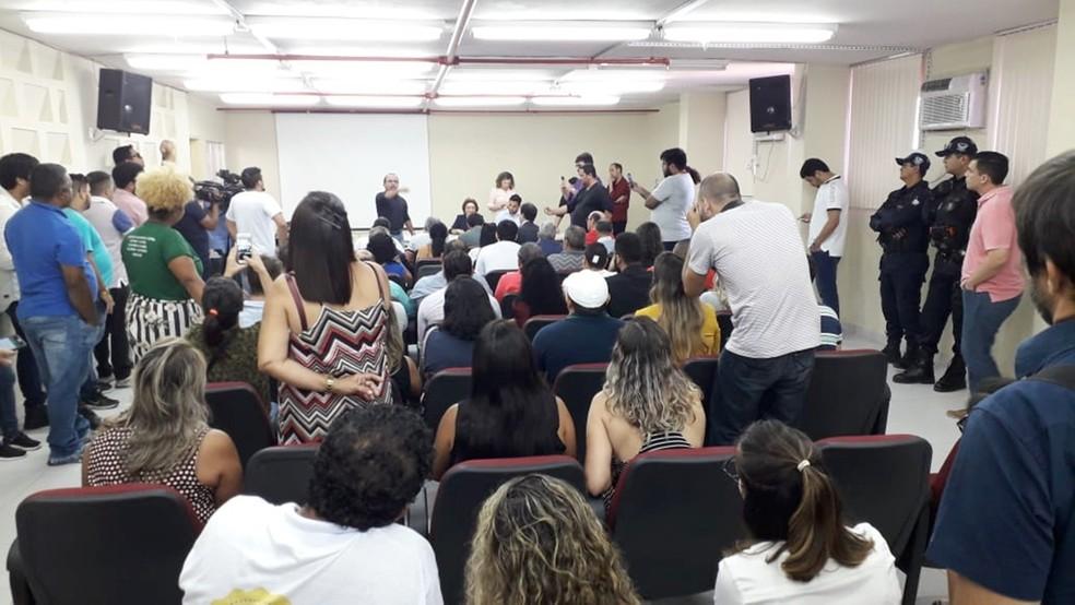 Votação foi realiza na manhã desta quinta-feira (16) — Foto: Klênyo Galvão/Inter TV Cabugi